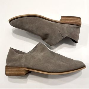 Taupe Hibou Suede Slip On
